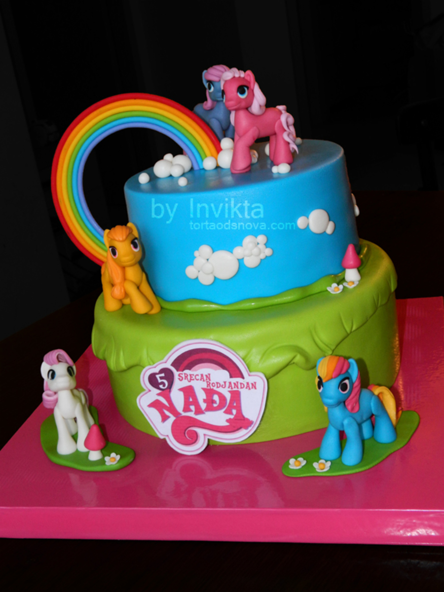My Little Pony Cake - CakeCentral.com