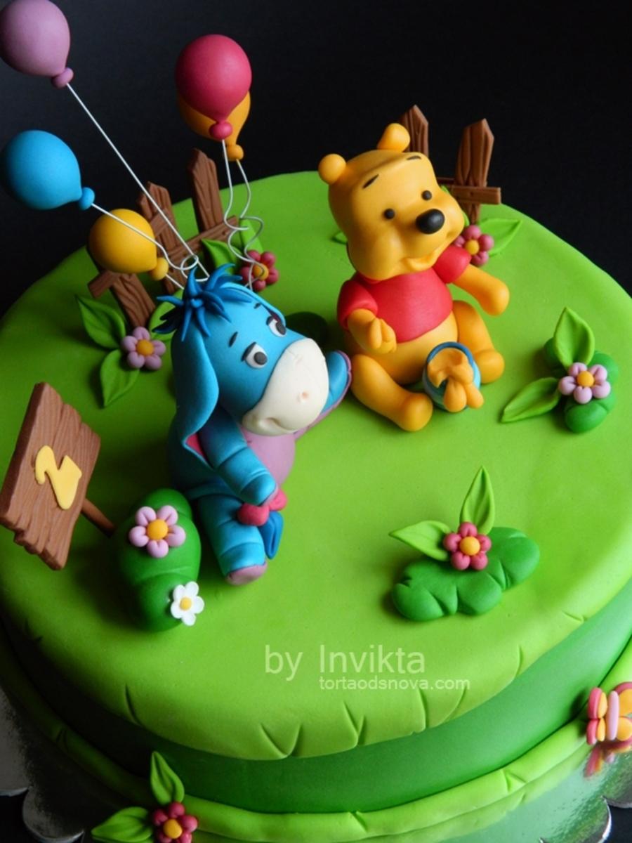 Winnie The Pooh Birthday Cakes First Birthday