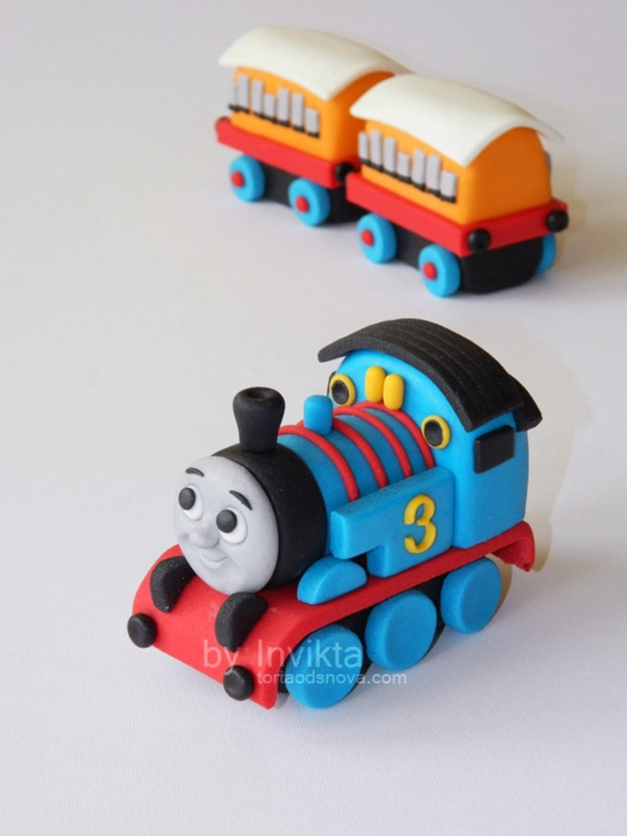 Thomas The Tank Engine Cake Topper