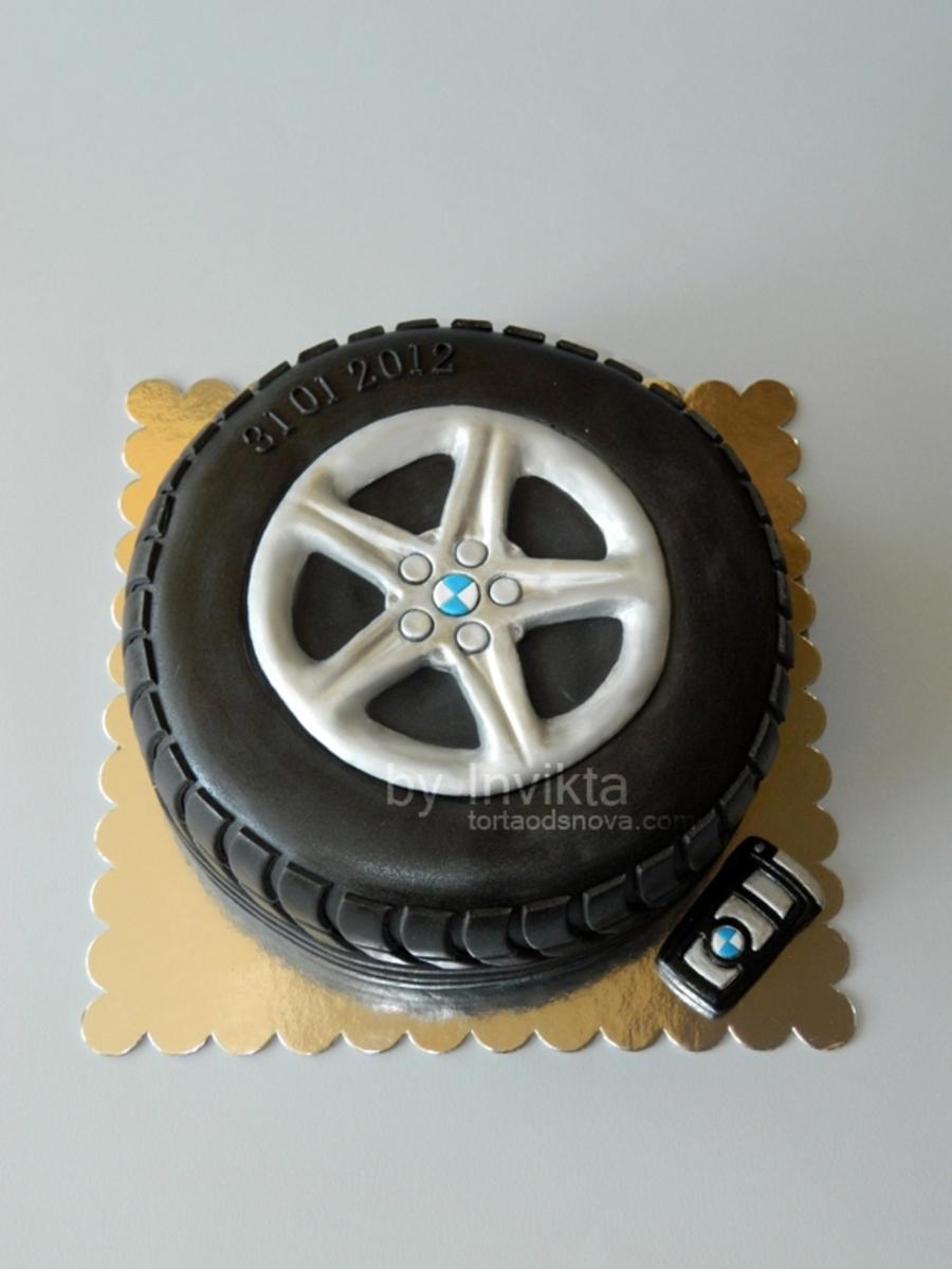 bmw tire cake. Black Bedroom Furniture Sets. Home Design Ideas