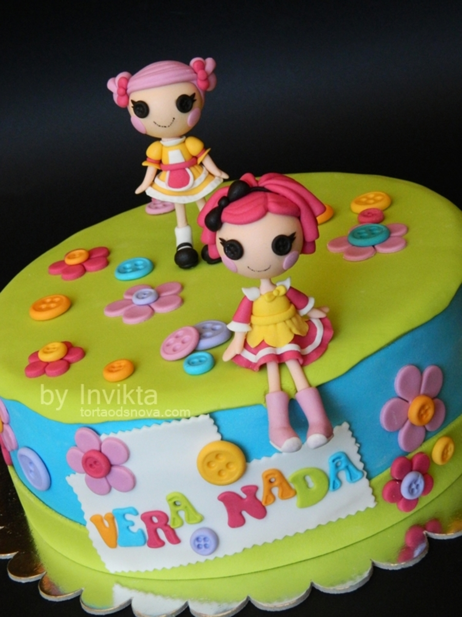 Lalaloopsy Birthday Cake - CakeCentral.com