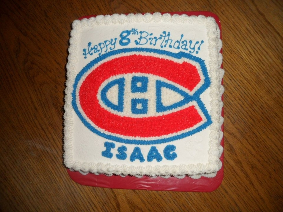 Montreal Canadians on Cake Central