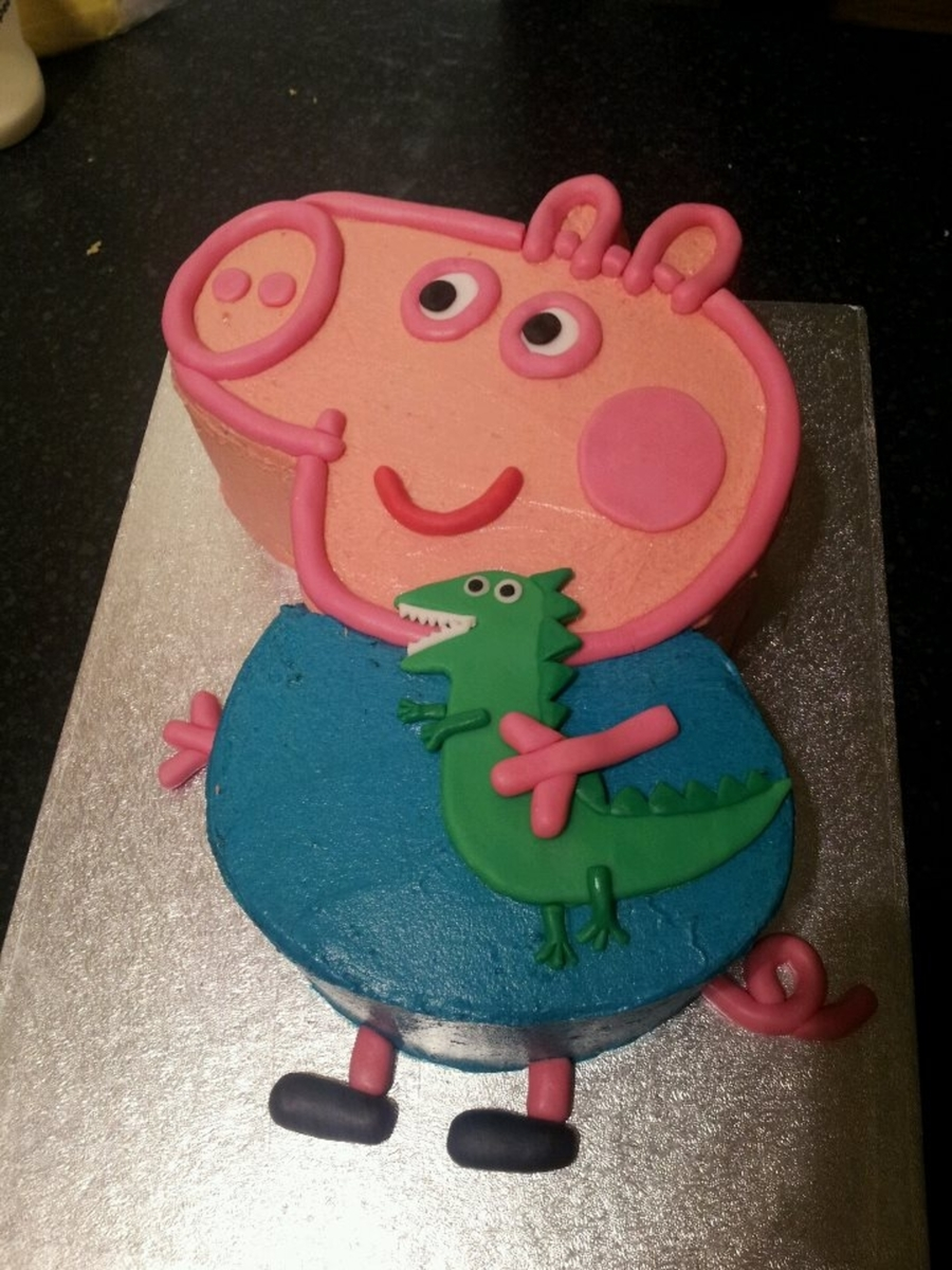 Pig Birthday Cake Pictures