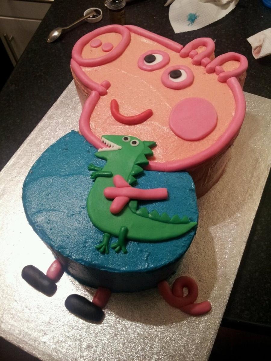 Viola Birthday Cake