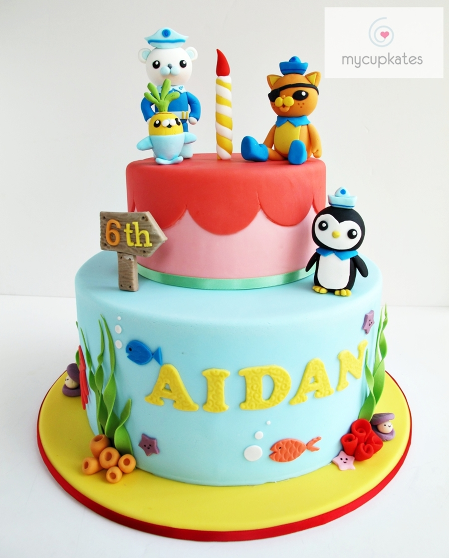 Octonauts Cake on Cake Central