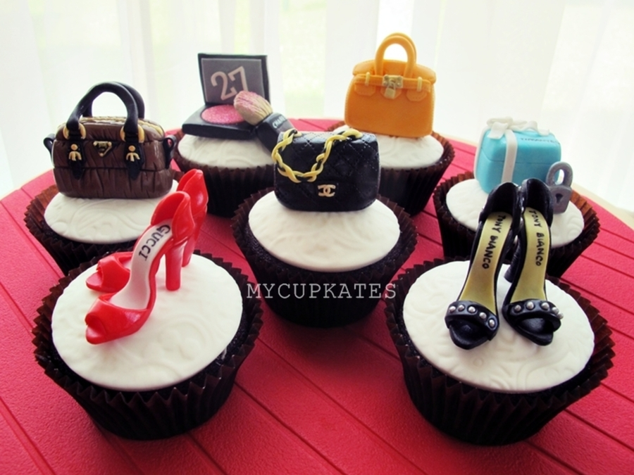 Shoes & Bags Cupcakes on Cake Central