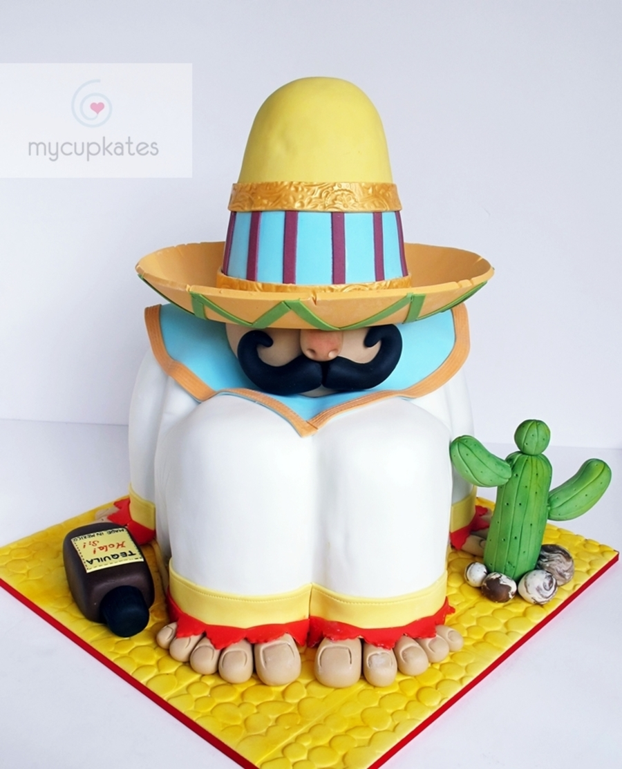 Mexican Fiesta Cake Cakecentral Com