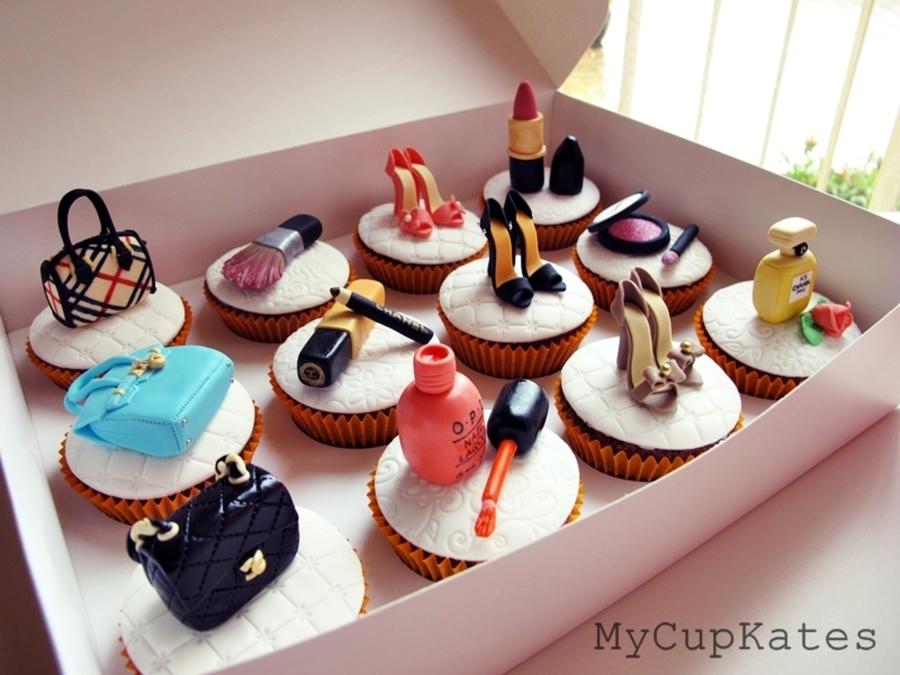Makeup Cupcakes Cakecentral Com