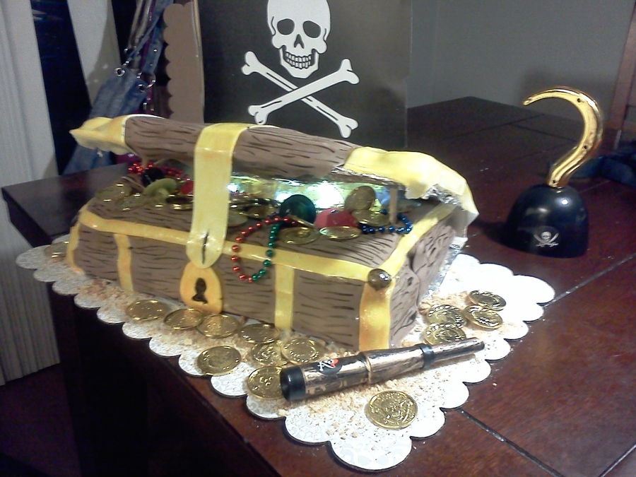 Treasure Chest on Cake Central