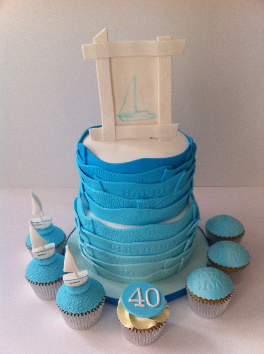 Sailboat on Cake Central