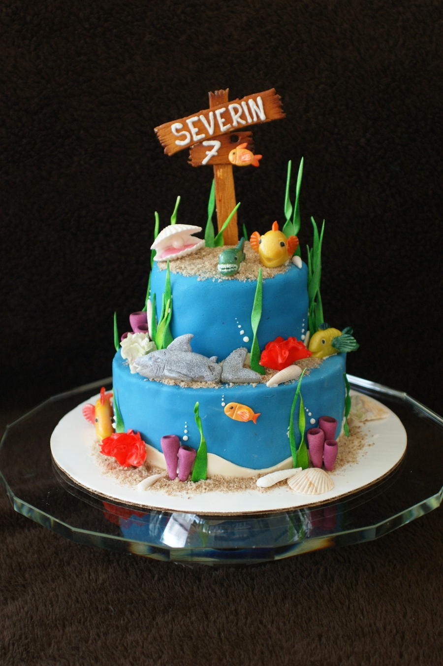 Underwater Cake on Cake Central