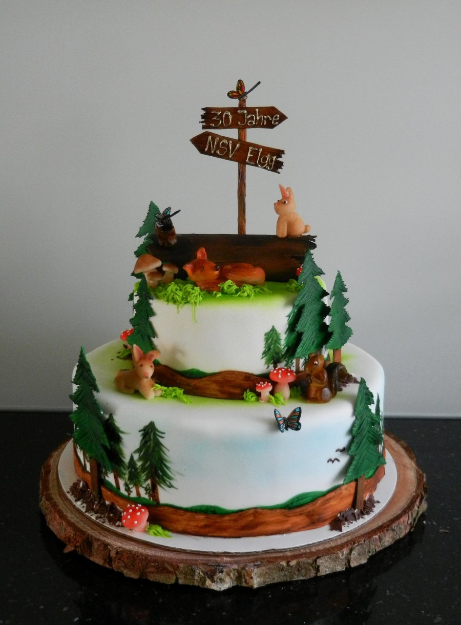 Forest Cake on Cake Central