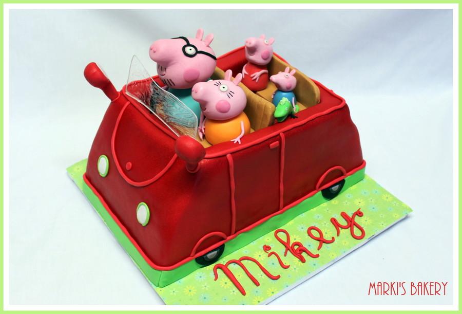 Peppa Pig Car Cake Cakecentral