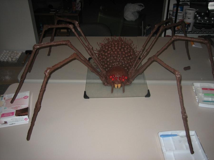 Giant Spider Cakecentral Com