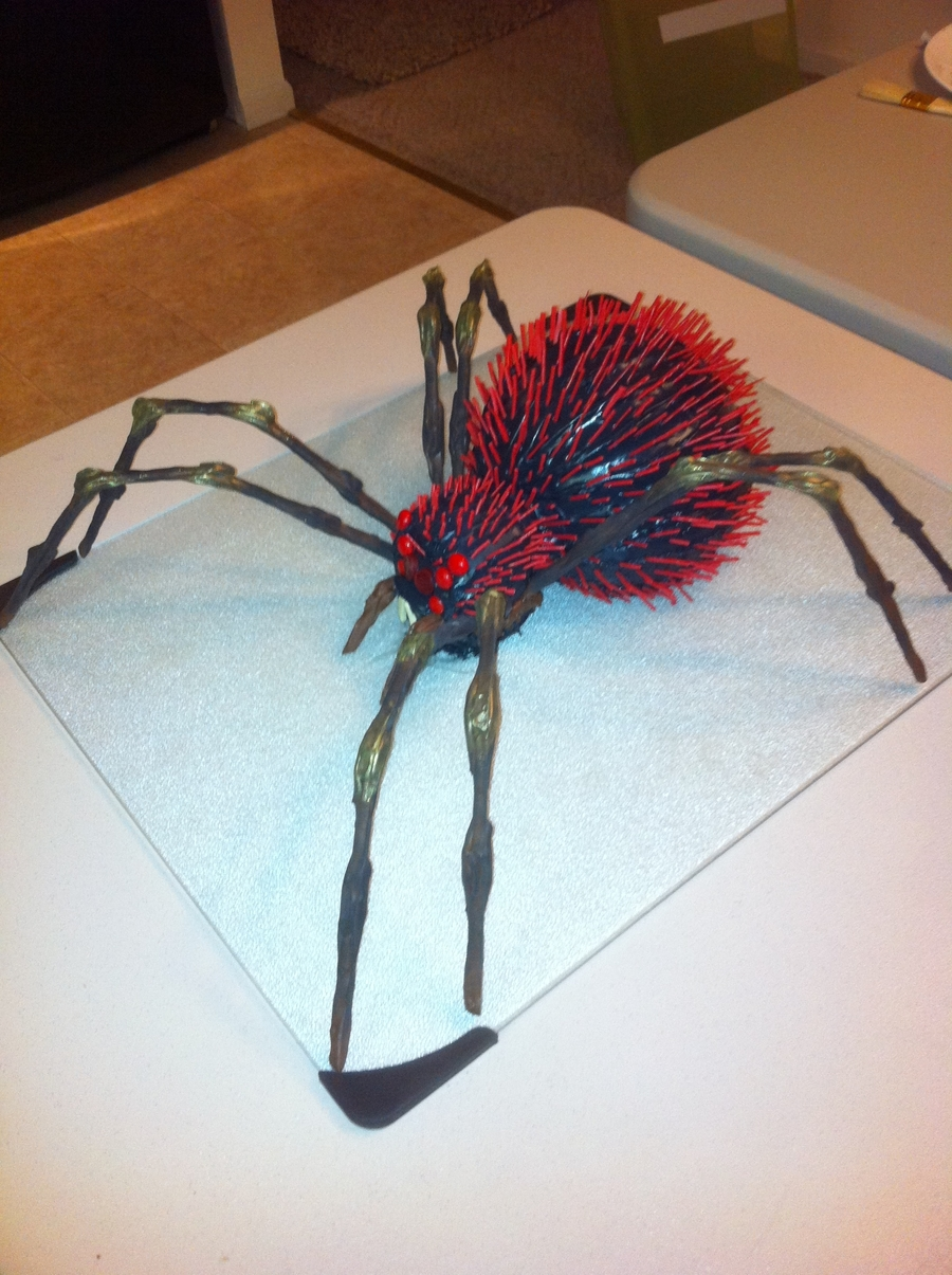 Red Haired Spider Cakecentral Com