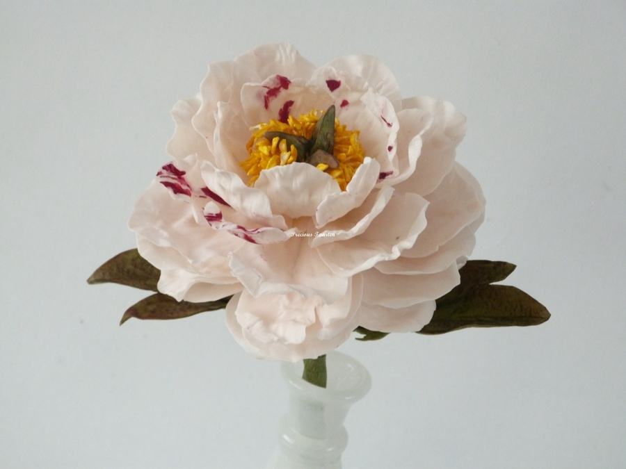 Peony Flower on Cake Central
