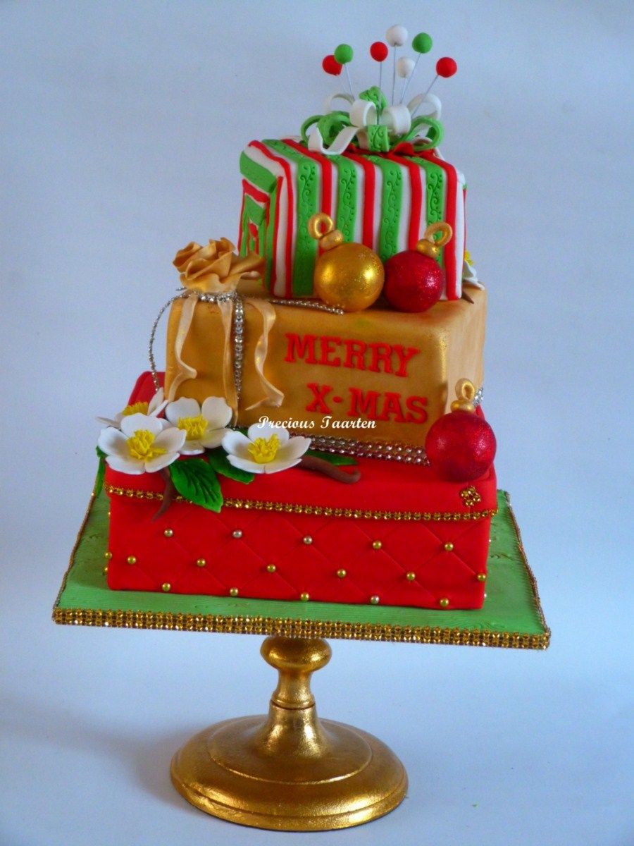 Merry X-Mas on Cake Central