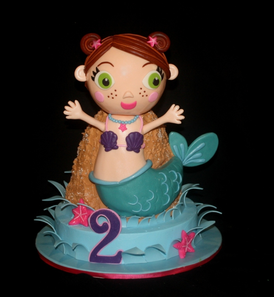 Lil' Mermaid on Cake Central