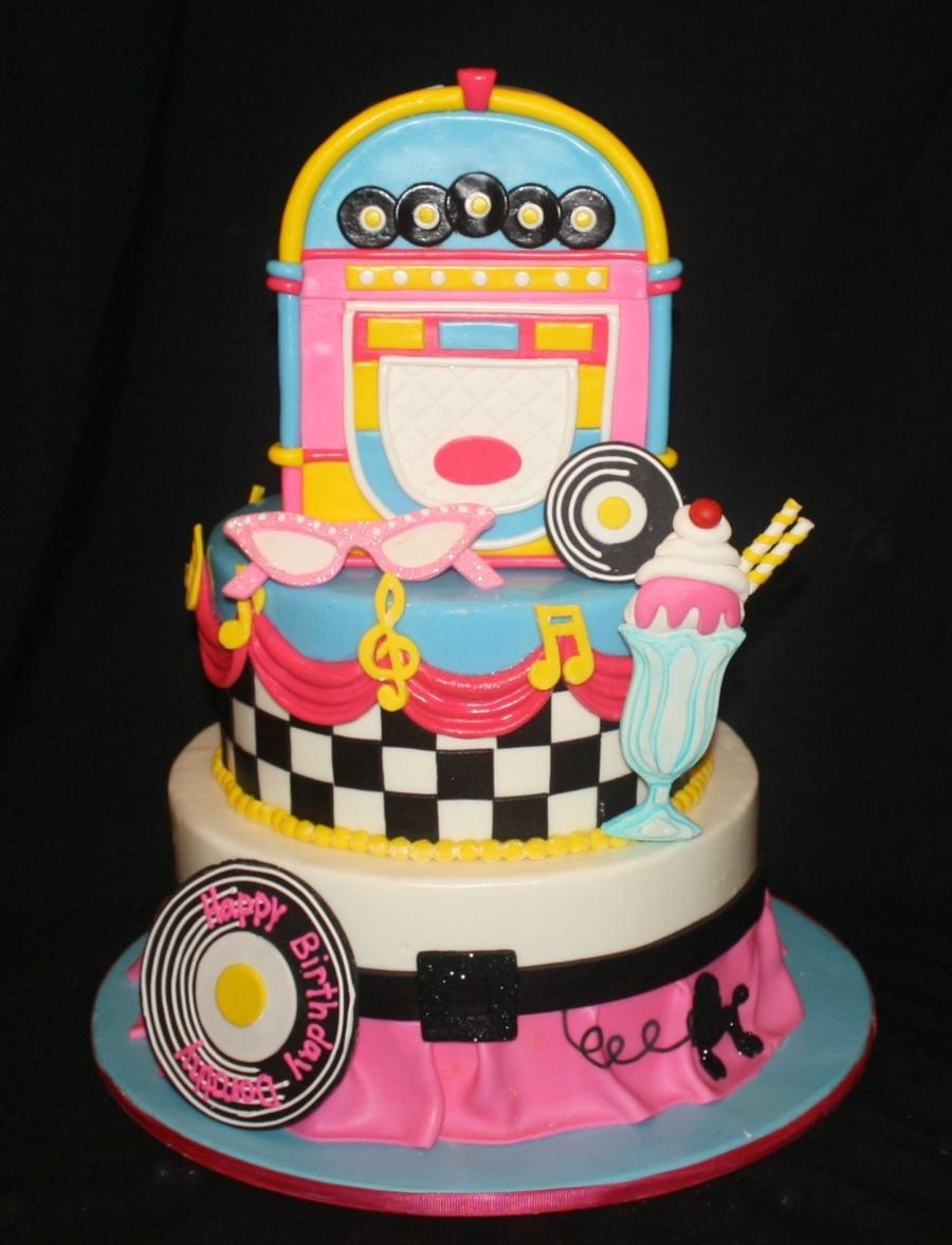 Pleasing 50S Birthday Cake Cakecentral Com Funny Birthday Cards Online Necthendildamsfinfo