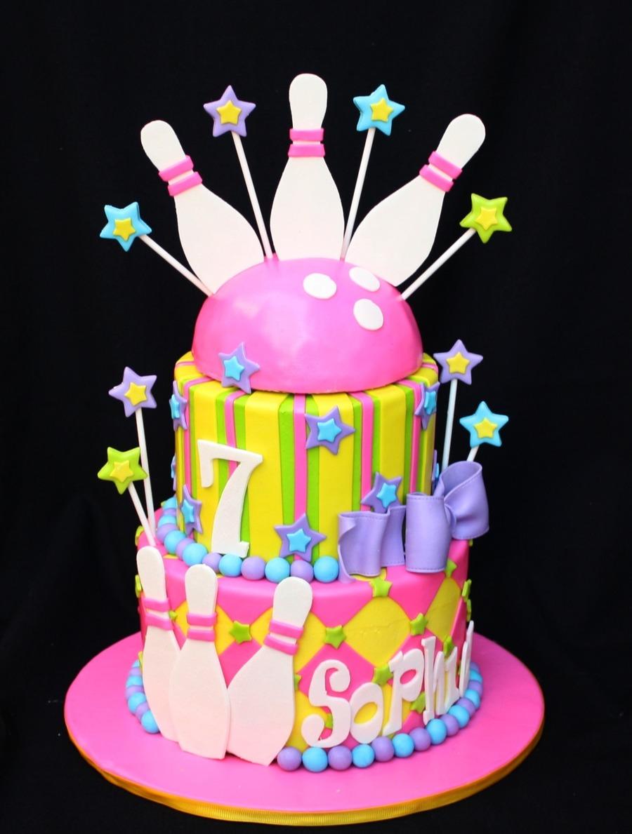 Bowling Birthday Cakecentral Com