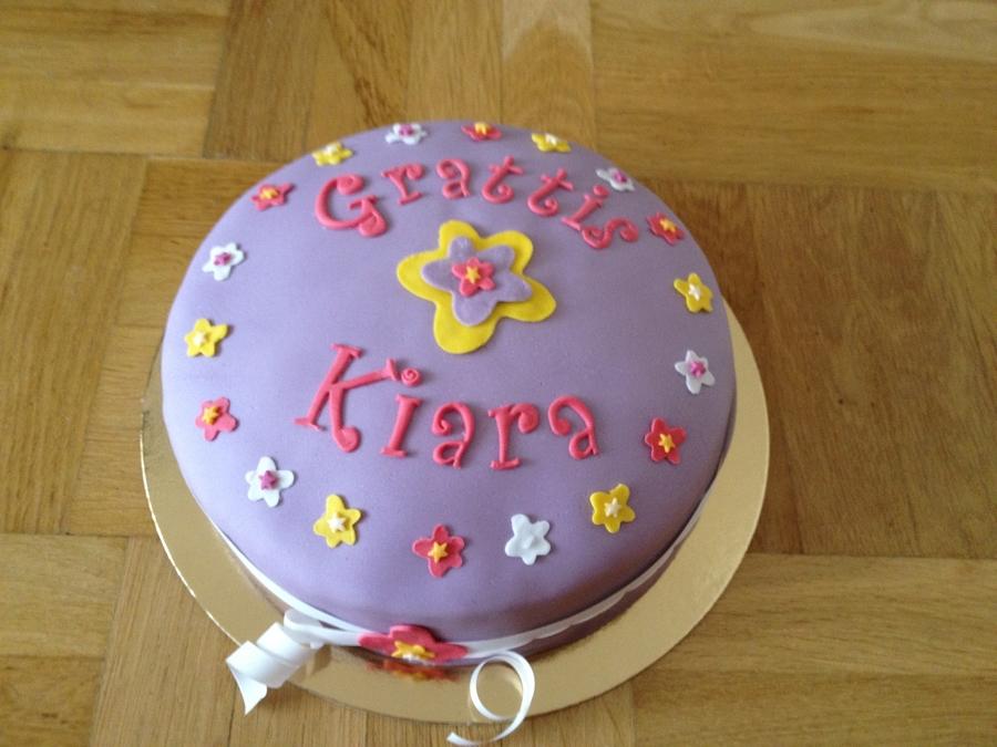 Awe Inspiring Girly Birthday Cake Cakecentral Com Personalised Birthday Cards Xaembasilily Jamesorg