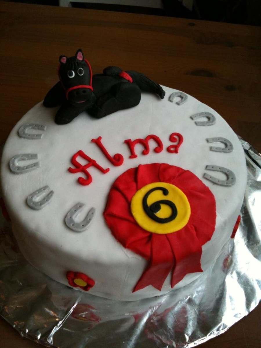 Horse-Themed Birthday Cake on Cake Central