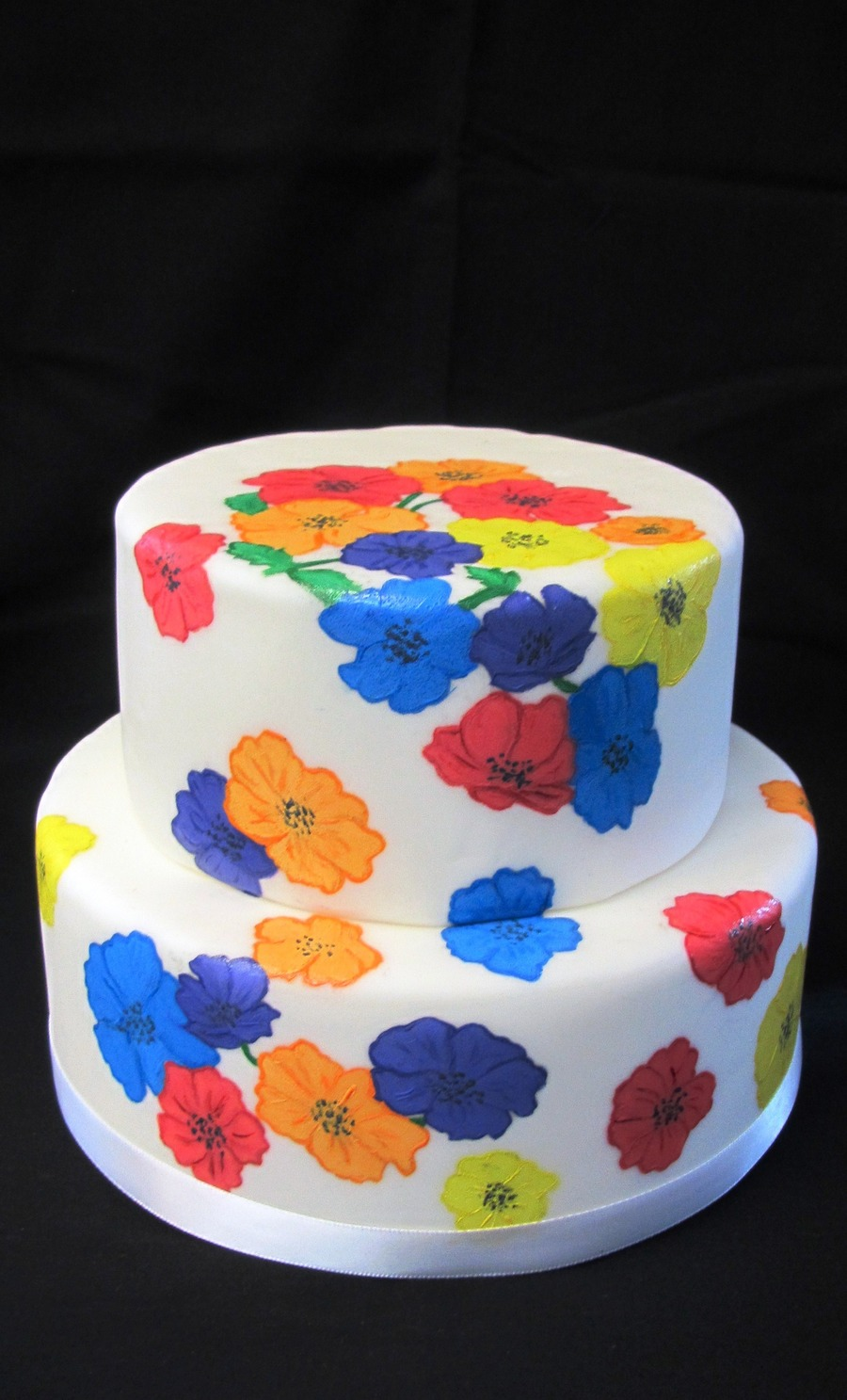 Spring Time Flowers on Cake Central