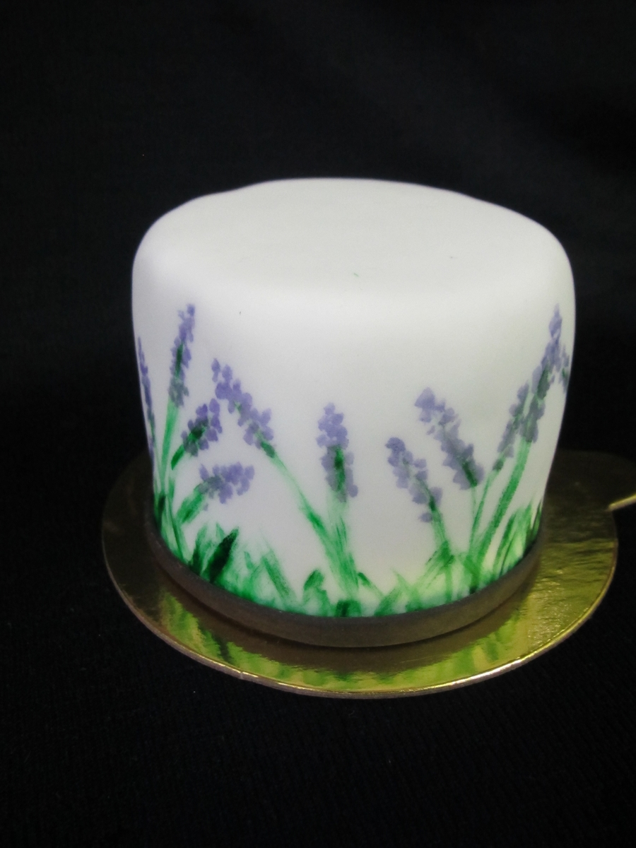 Lavender Fields on Cake Central