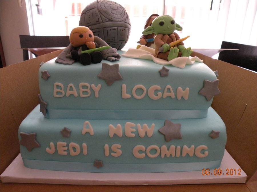 Star Wars Baby Shower On Cake Central