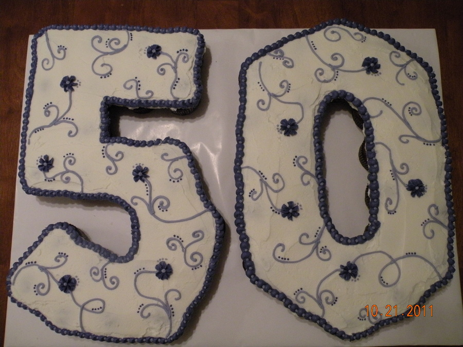 50Th Birthday Pull Apart Cake on Cake Central