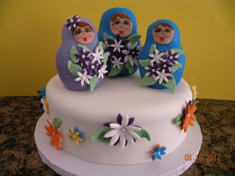 Matryoshka Doll on Cake Central