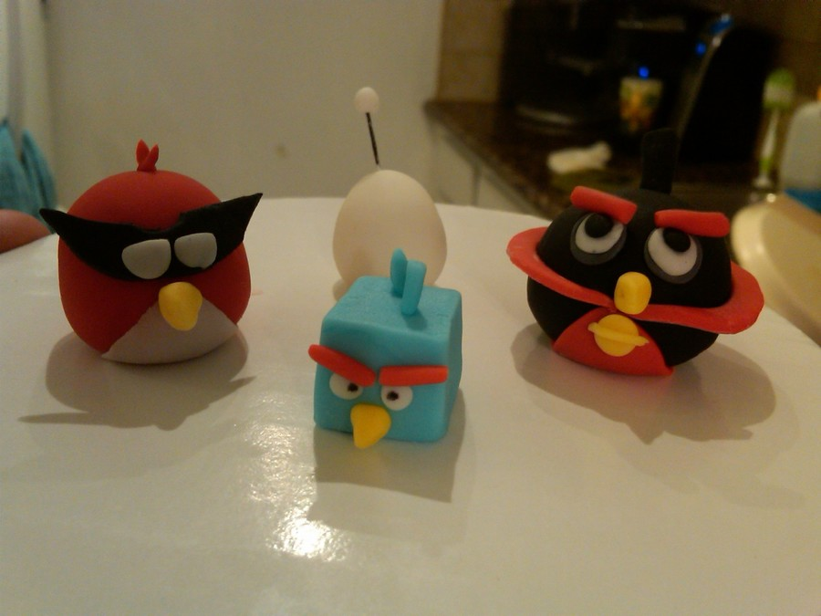 Angry Birds Space on Cake Central