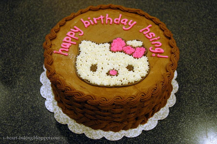 Hello Kitty Ice Cream Cake Cakecentral Com