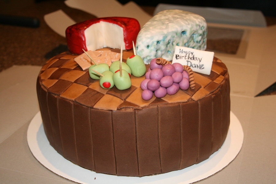 Cheese Board Cake on Cake Central