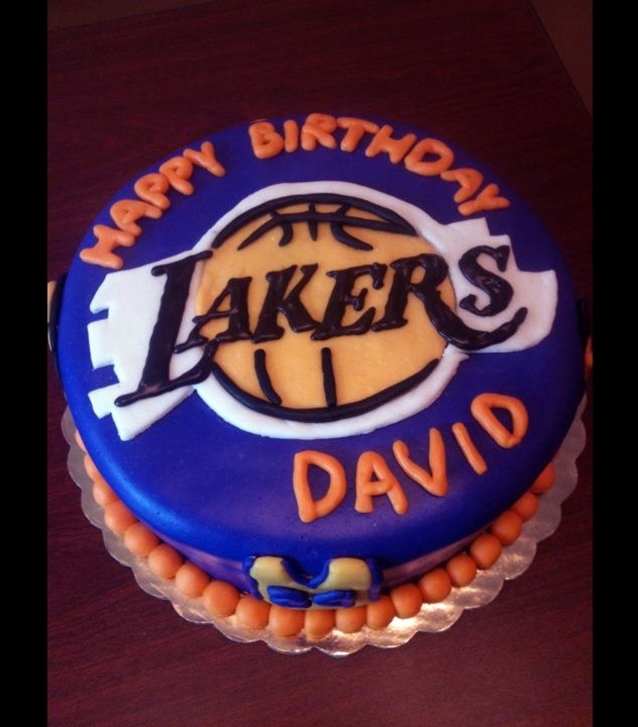 8 Lakers Cake Cakecentral