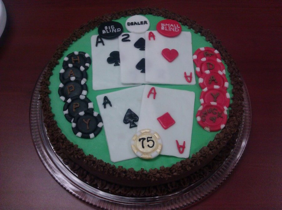 Poker Bday Cake on Cake Central