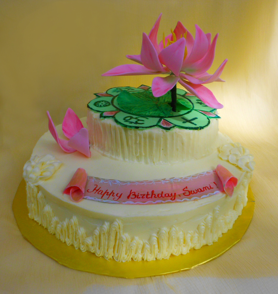 Cake Images In : Sathya Sai Baba s Birthday Cake - CakeCentral.com