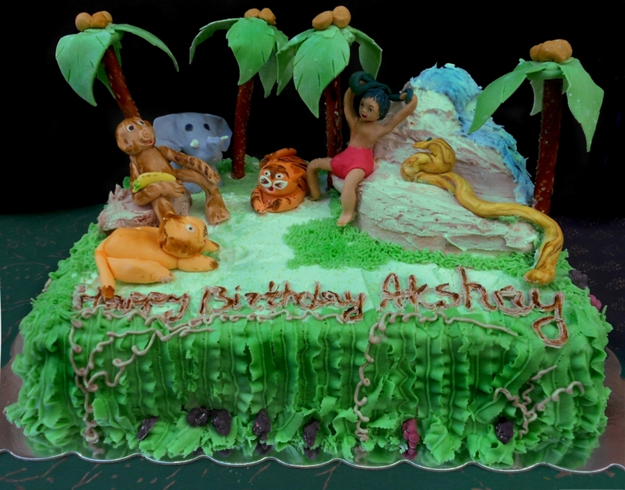 Rainforest Cake Decorations