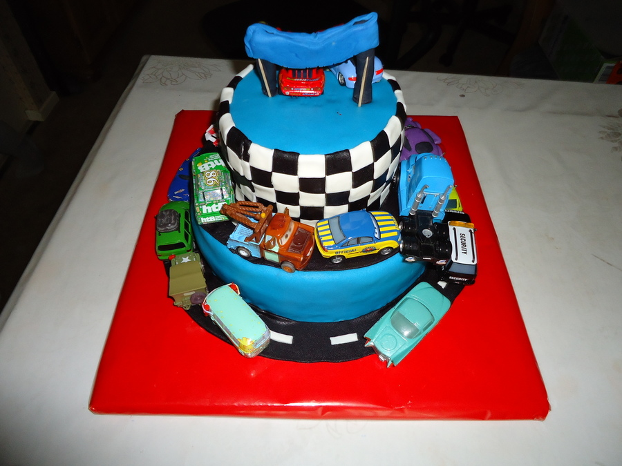 Cars2 Birthday Cake on Cake Central
