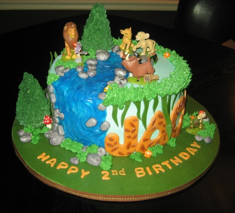 Marvelous Lion King Birthday Cake Cakecentral Com Birthday Cards Printable Opercafe Filternl