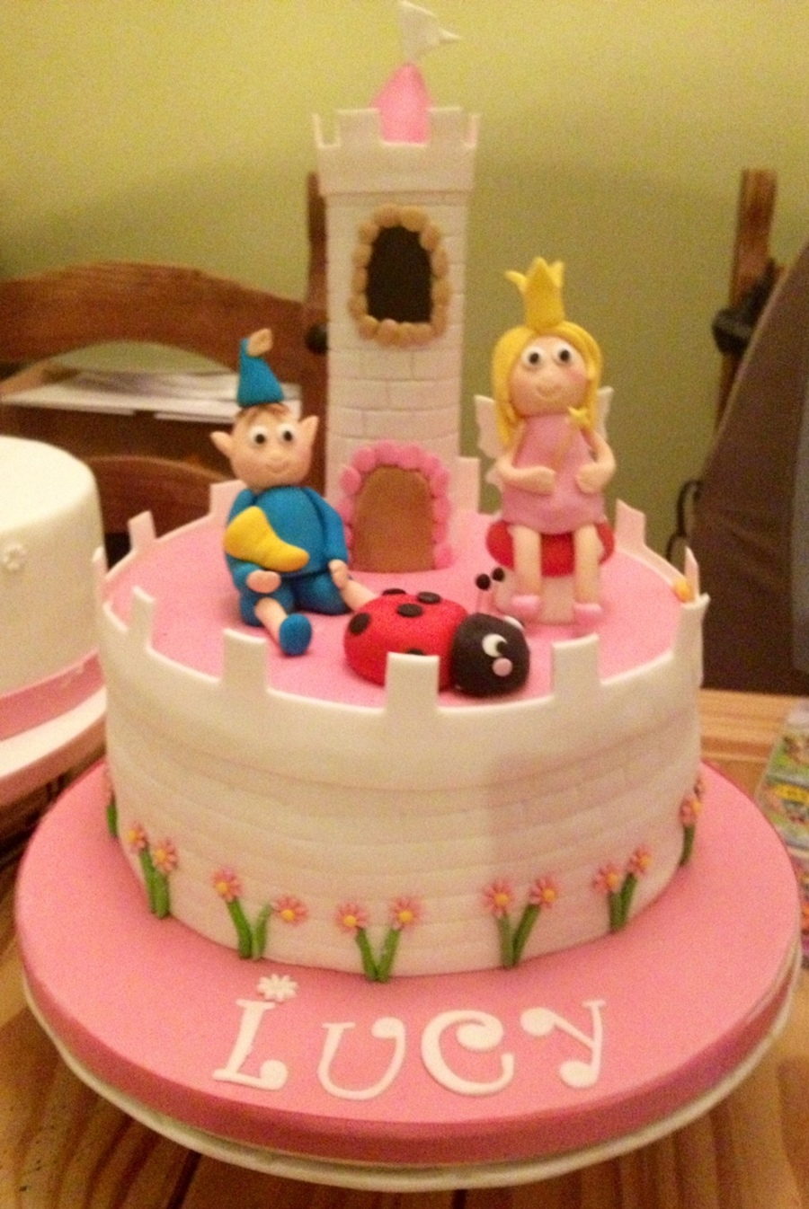 Ben And Holly Cake - CakeCentral.com