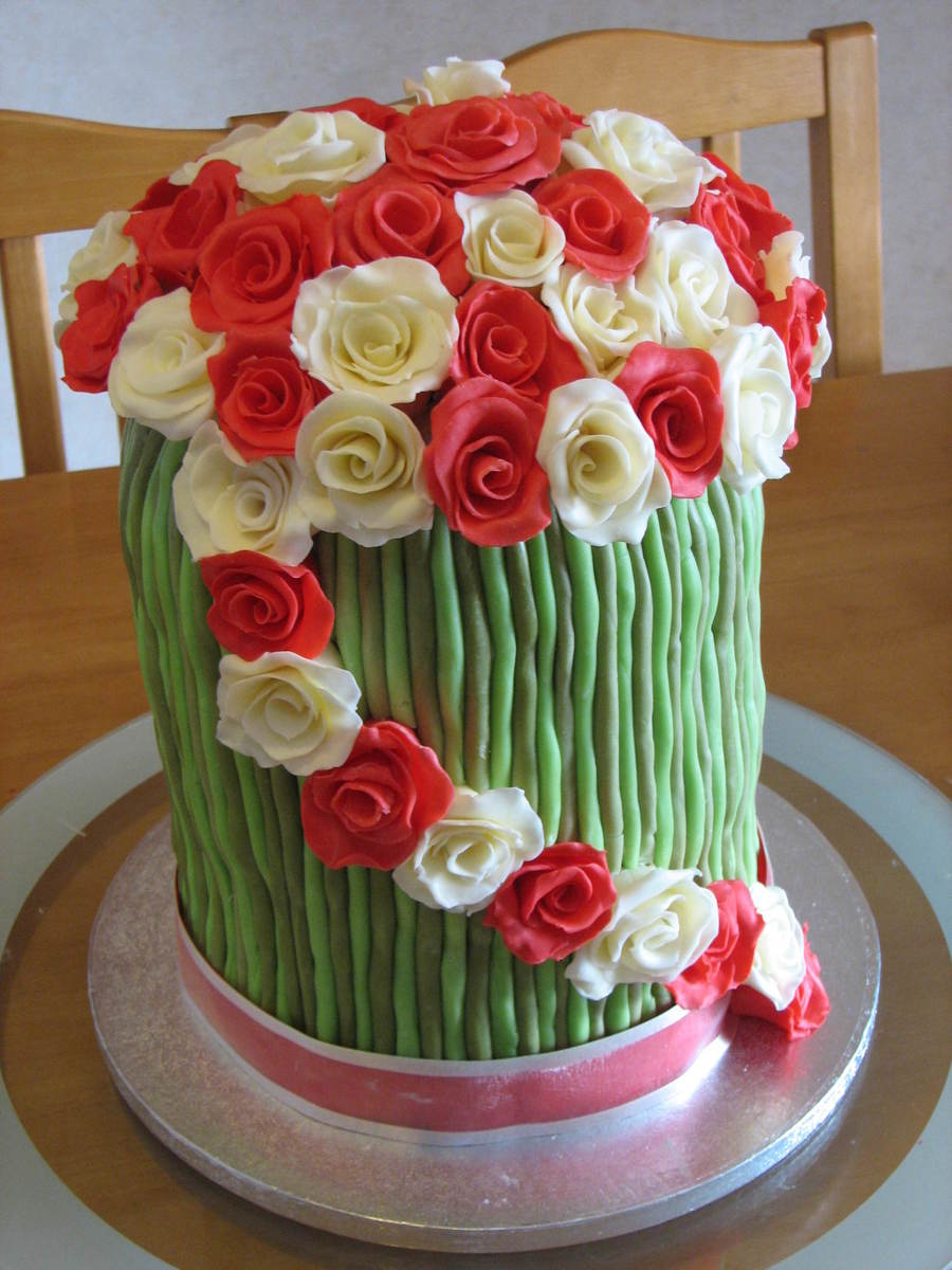 Bunch Of Flowers on Cake Central