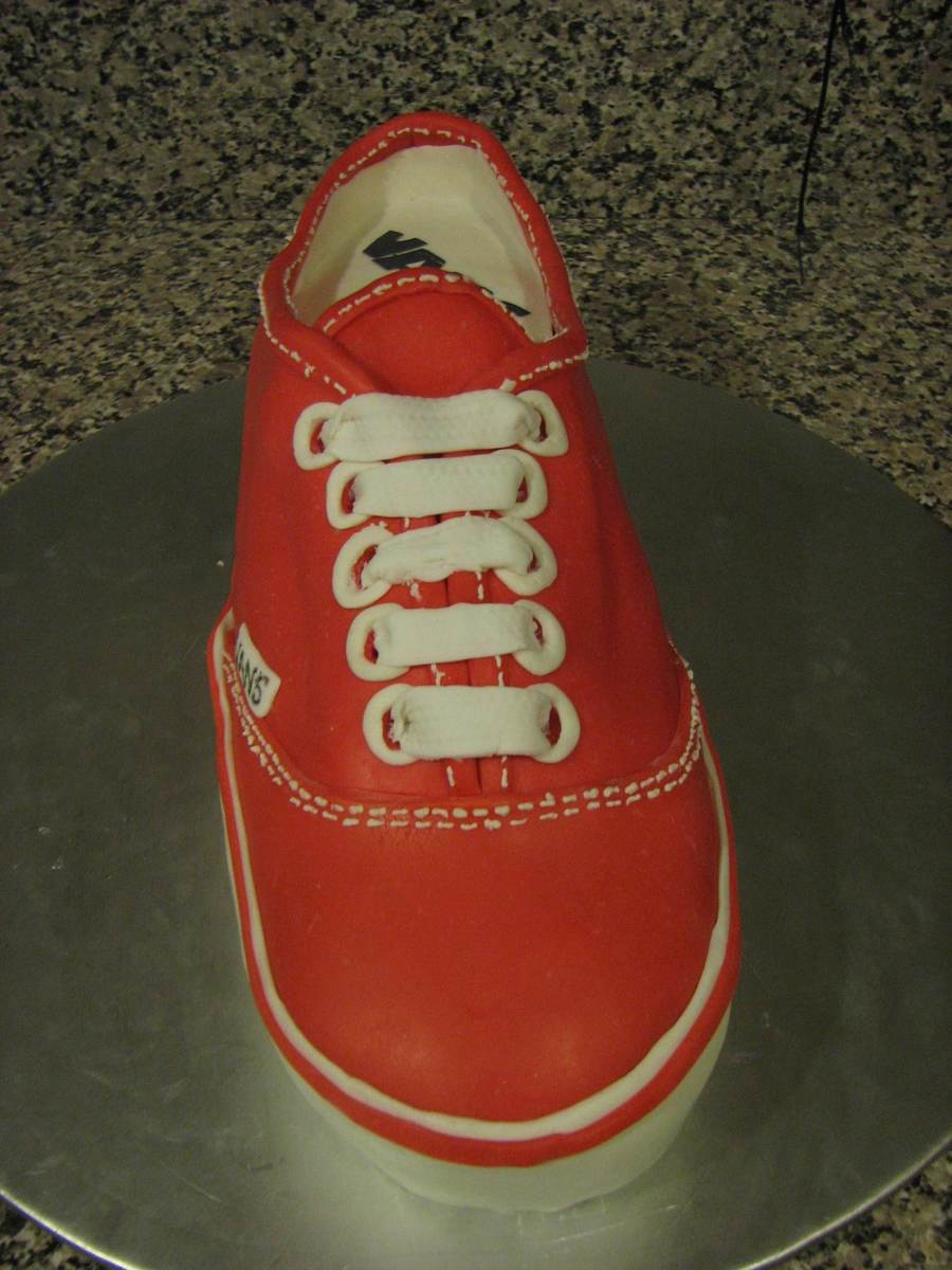 Classic Van Shoe  on Cake Central