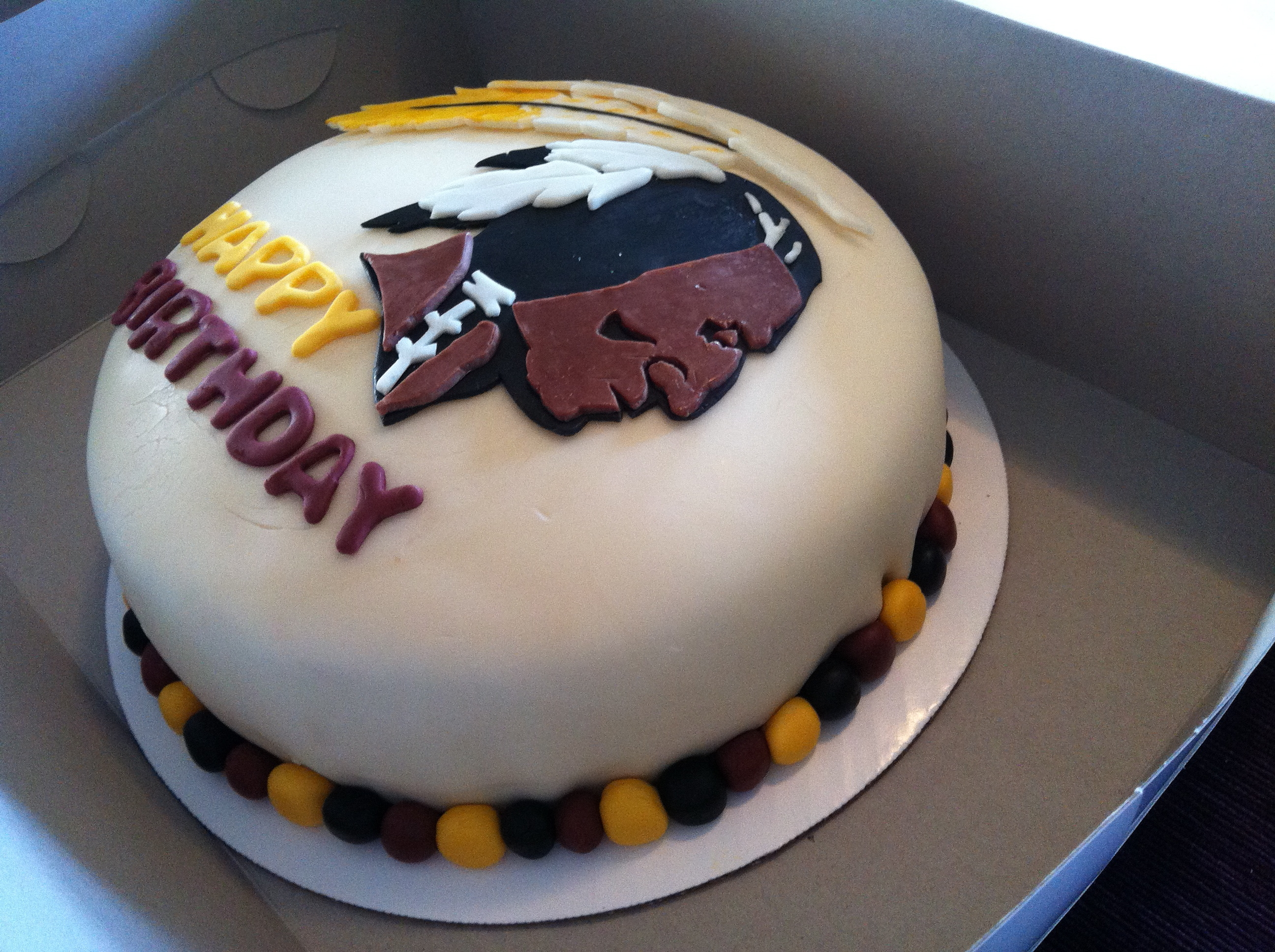 Redskins Cakes Birthday Cakes