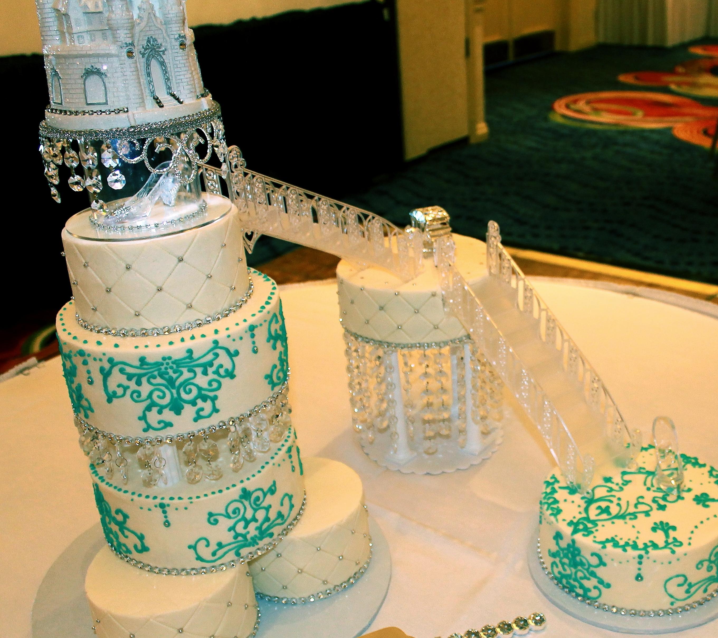 Princess Cake Wedding Cake Castle Cake Staircase Cake ...