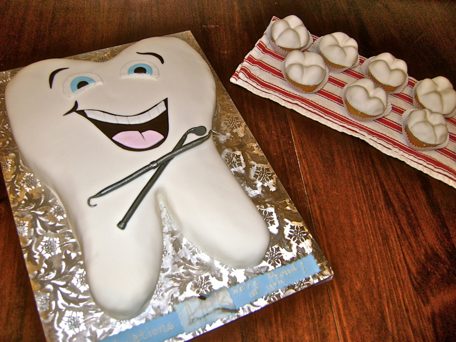 First Tooth Cake Ideas