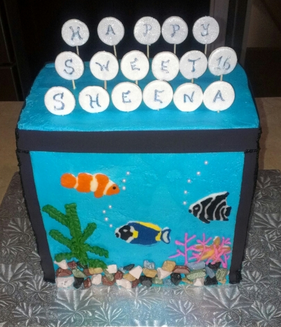 Aquarium Cake  on Cake Central