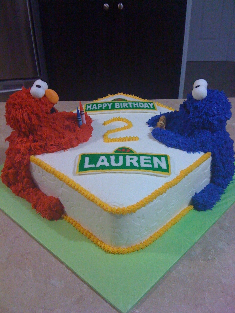How To Make A Cookie Monster Birthday Cake