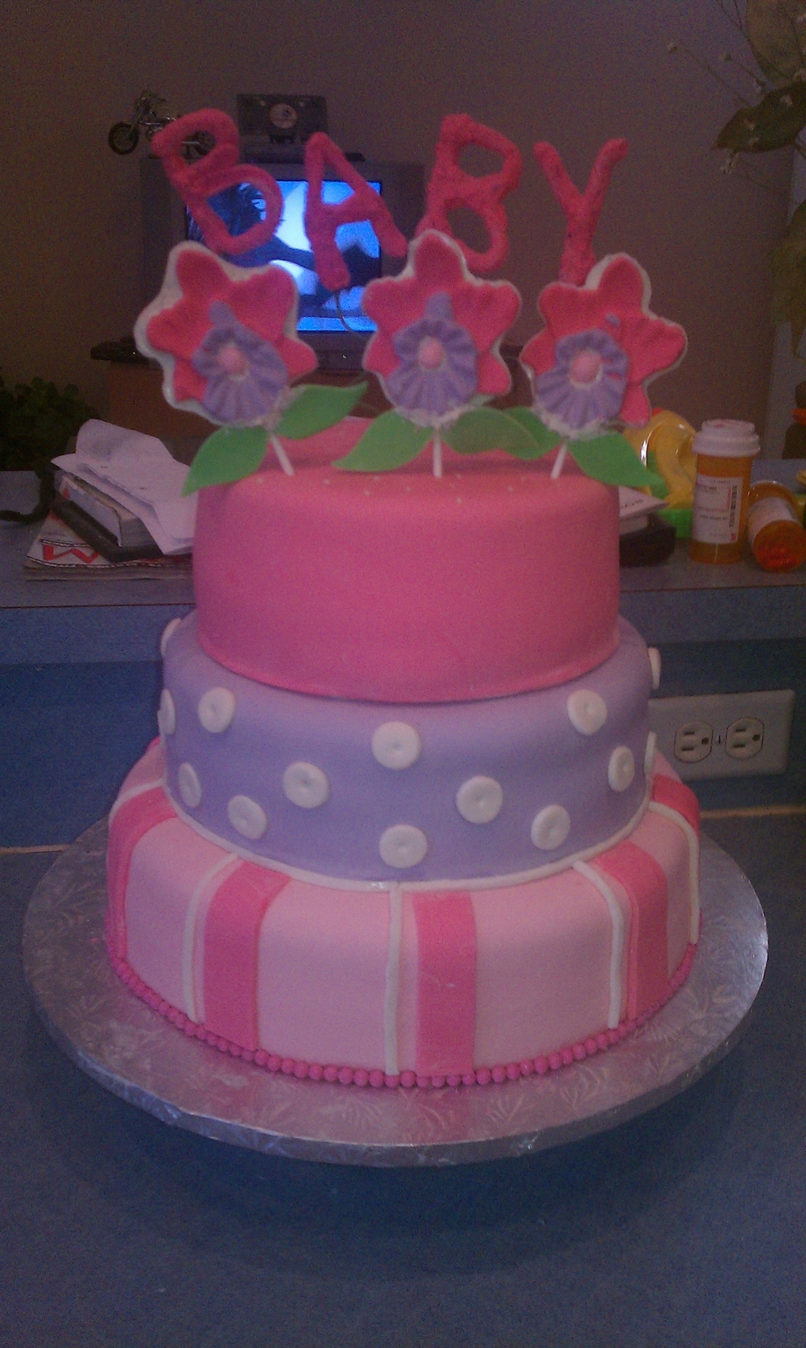 Baby Girl Baby Shower on Cake Central
