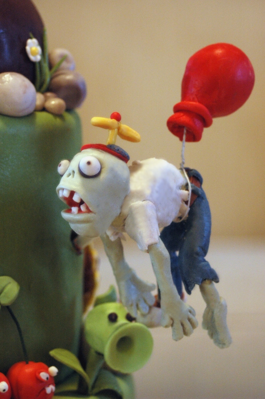 Plants Vs Zombies Birhtday Cake